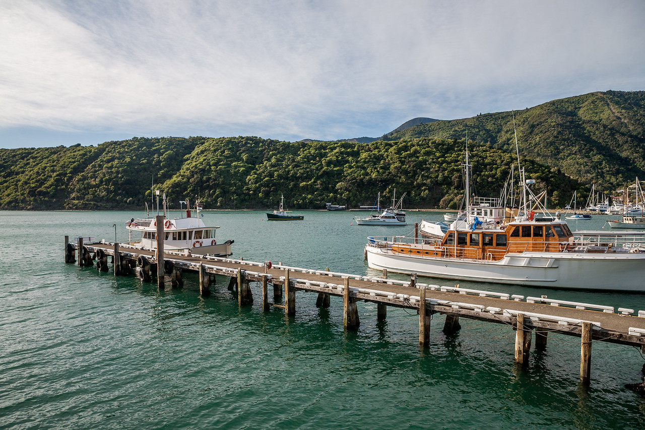 Picton ferry terminal, New Zealand