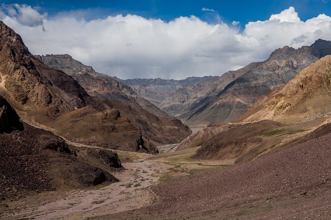 Kunzum Pass on the way Manali Kaza route to Spiti valley