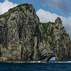 Hole in the rock at the Bay of islands, New Zealand