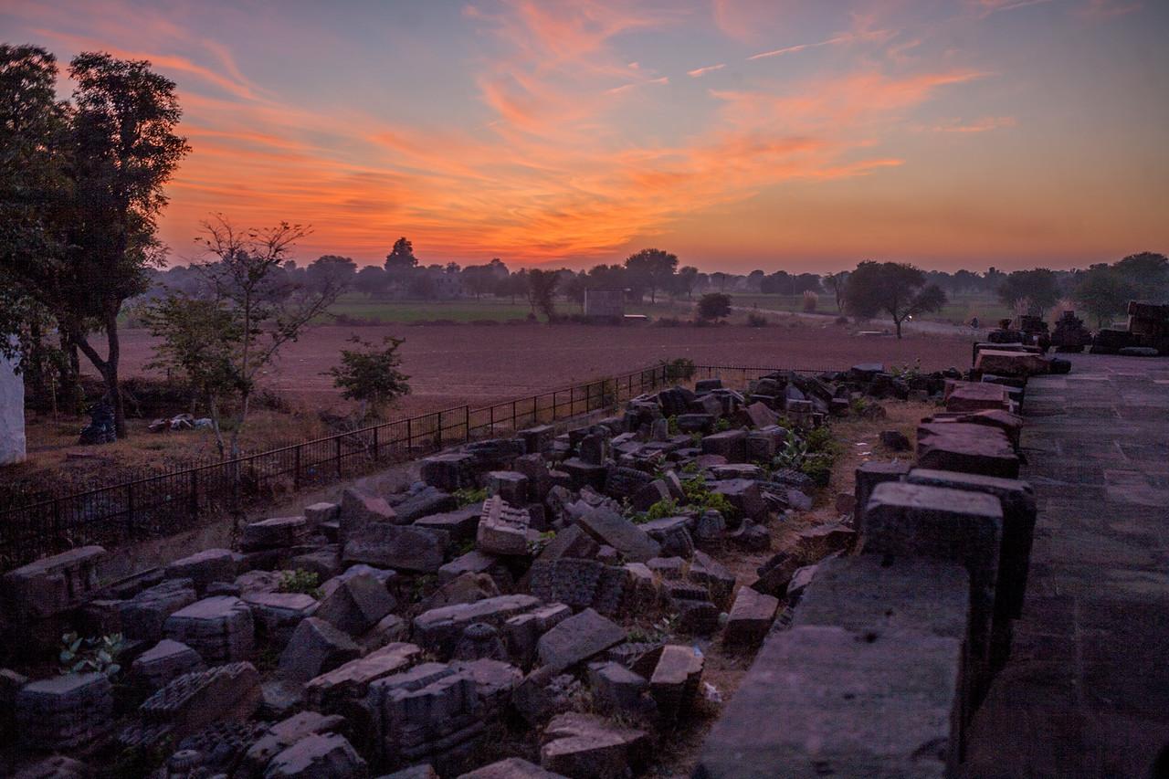Ruins at Harshad Mata Temple, Abhaneri, Rajasthan