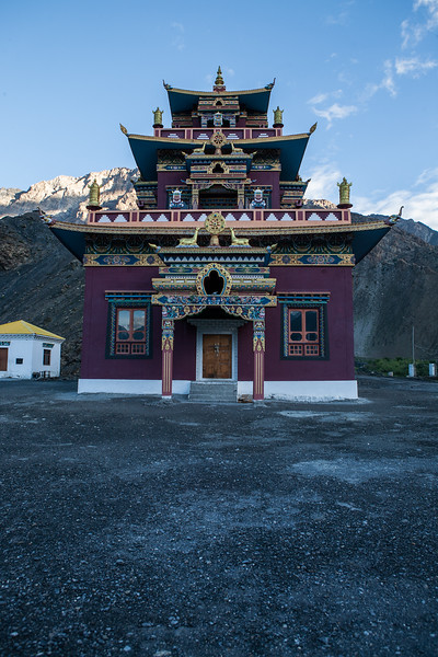 Gue Monastery, Spiti Valley, India