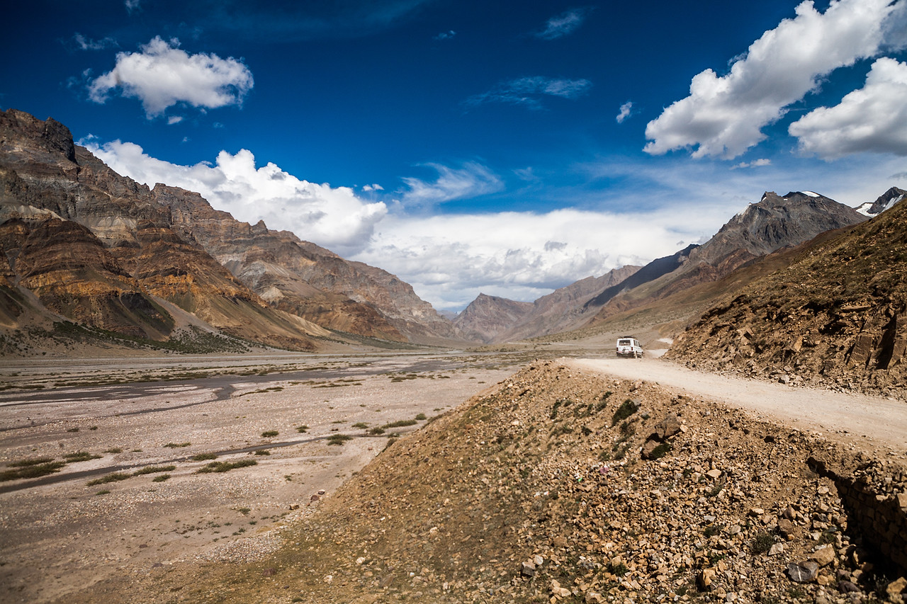 Nearing Losar on the Manali Kaza route to Spiti valley