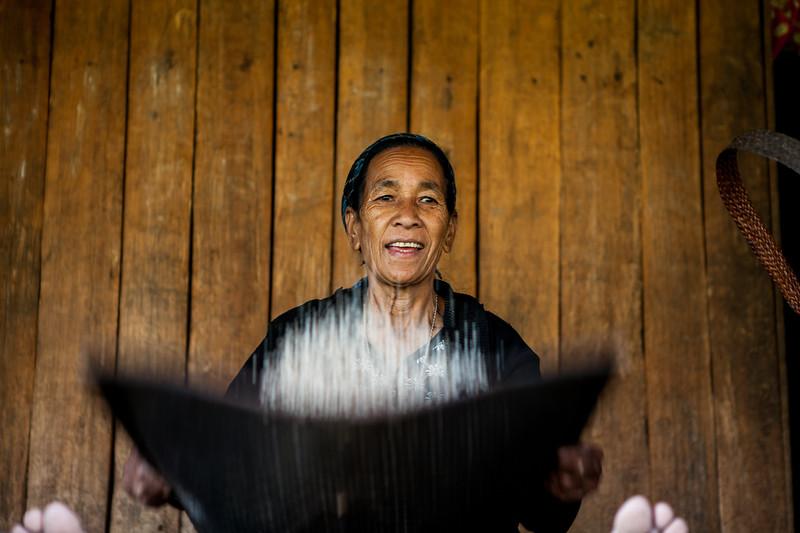 A Galo lady from Basar, Arunachal Pradesh, India