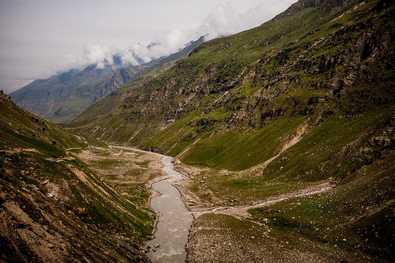 Nearing Gramphu on the Manali Kaza route to Spiti valley