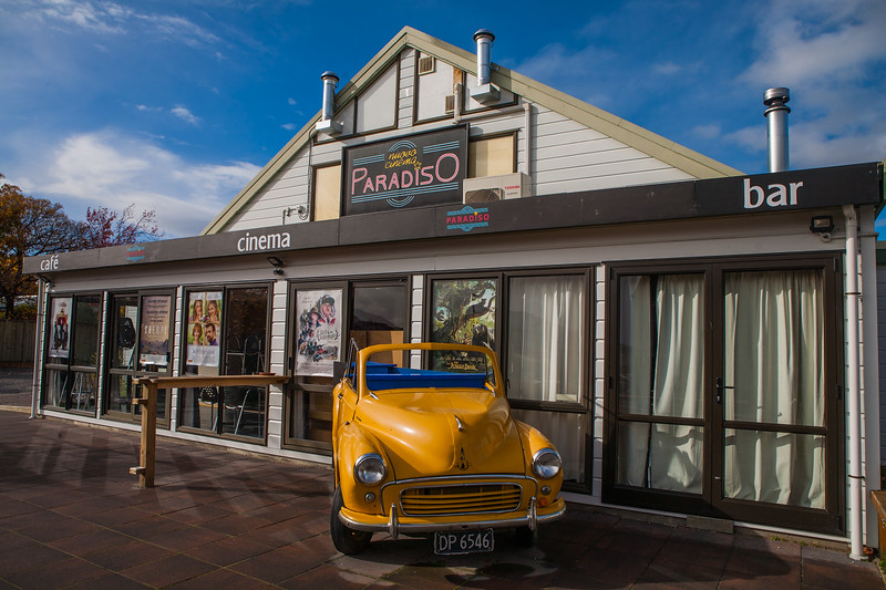 Cinema Paradiso, Wanaka, New Zealand