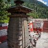 An old Kalpakedar temple on the way to Gangotri in Uttarakhand