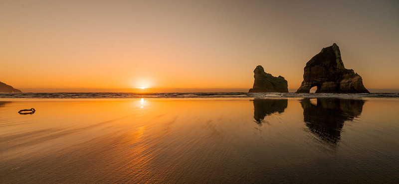 Wharariki Beach, New Zealand