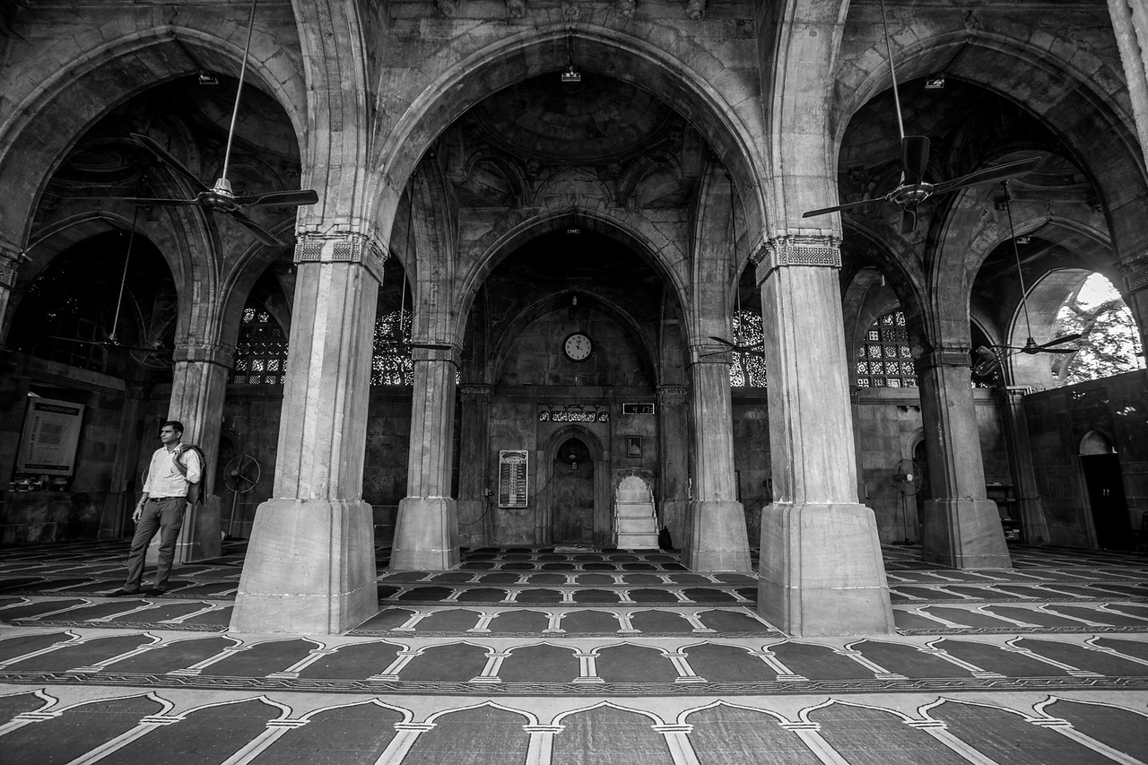 Siddi Sayyed mosque, Ahmedabad, India