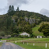 An off road of North bound NH1 out of Auckland, New Zealand heading to the Kawiti glow worm caves