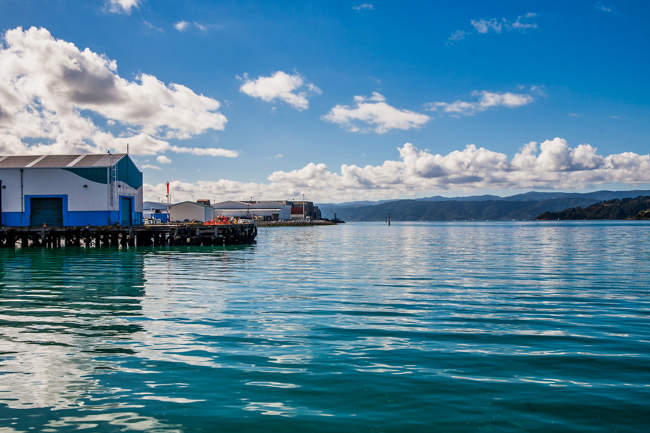 The Wellington waterfront, New Zealand