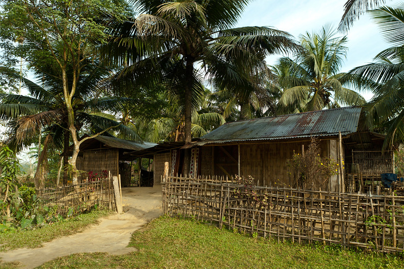 Villages near the  Dibru Saikhowa Wildlife Sanctuary in Assam, India