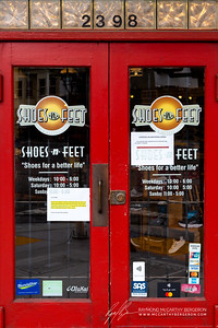 Shoes & Feet closes their doors, but does shipping to keep their business working.