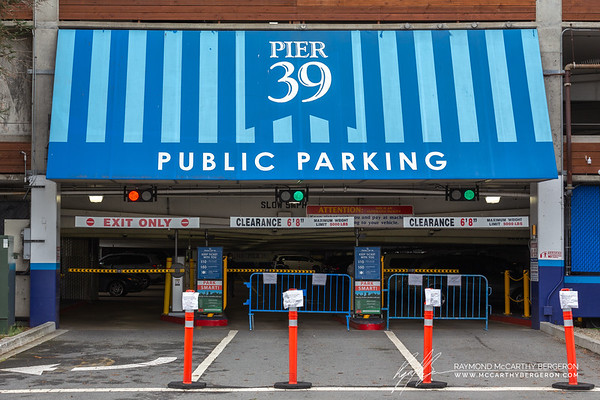 """Pier 39 Garage will be closed for business starting March 17th, 2020 Until Further Notice."""