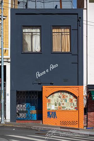 Pesce e Riso Restaurant closes during the epidemic.