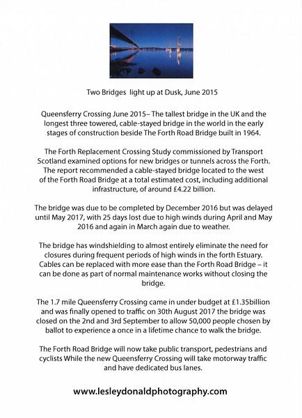 LDE_02  Two Bridges Light up at Dusk