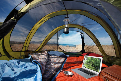 Great new client  http://www.camptents.com/   Finally found a use for Canon's fisheye lense.  Since the tent is basically round, edge distortion is not an issue.  The props carry the day, with of course that nice vanishing point centered in the scene.  More on these quality tents soon.