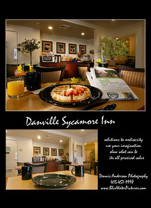 Before and after, adding little imagination, lighting, and props.  Best Western Plus, Danville   www.pacificplaza.com
