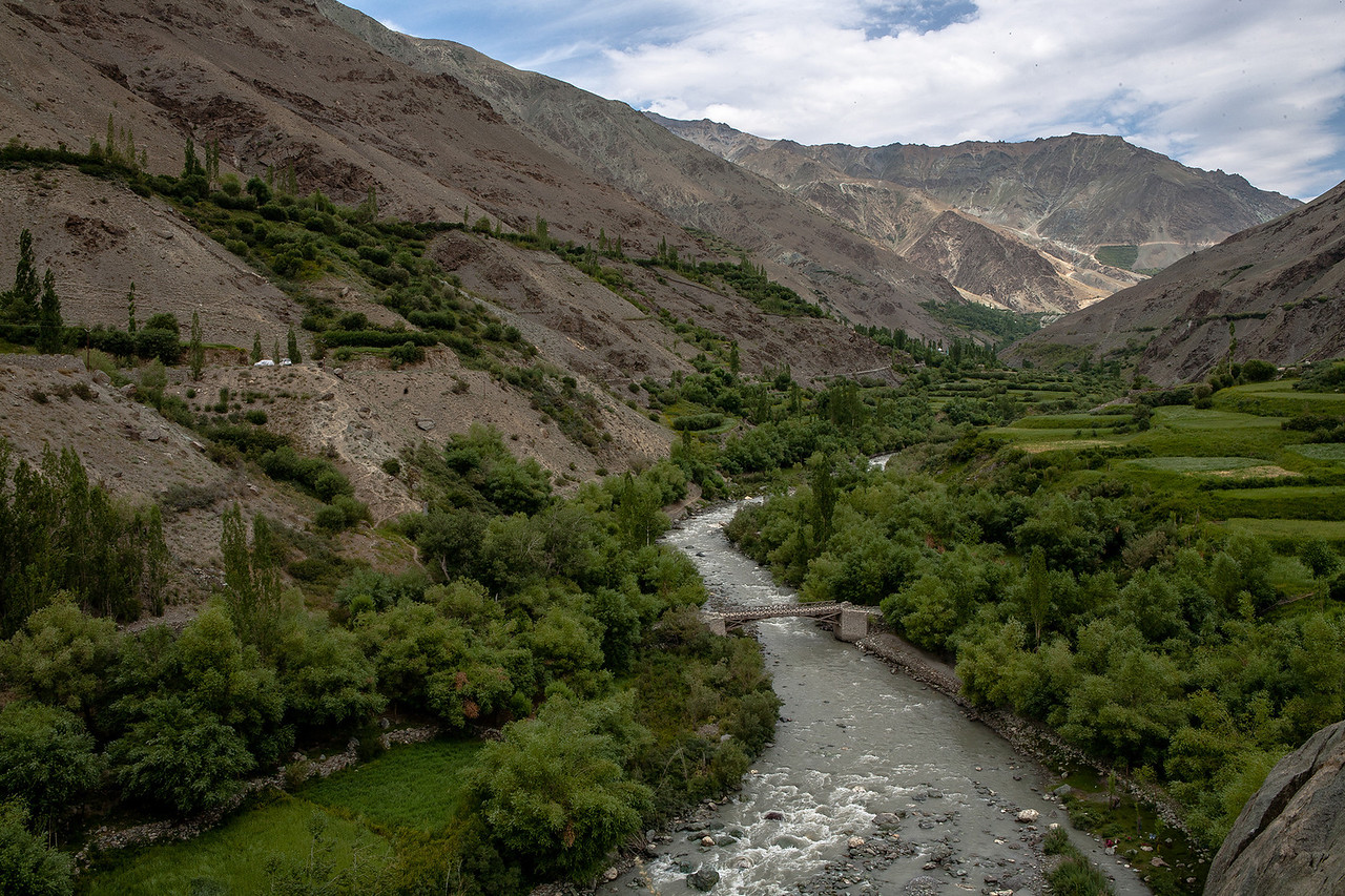Suru valley in Kargil, India