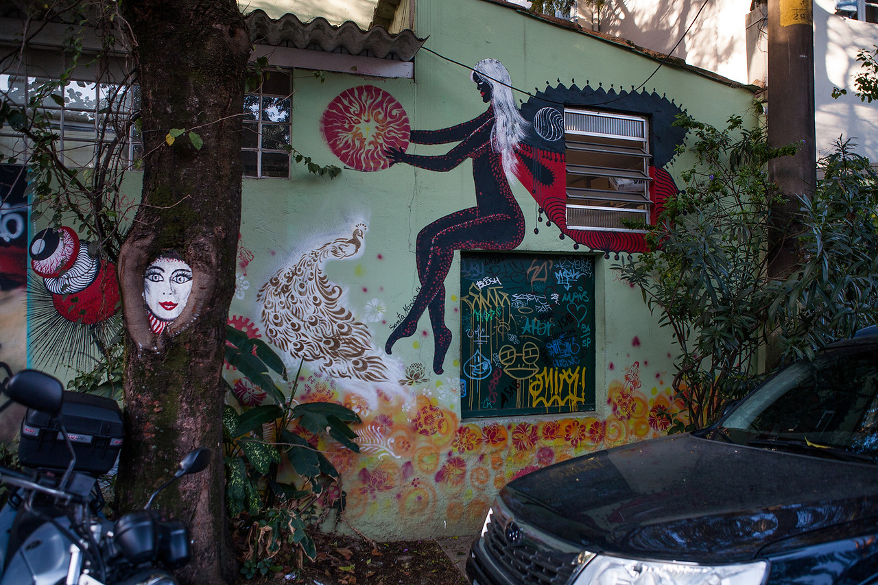 Artist Unknown - Beco do Batman, Sao Paulo, Brazil