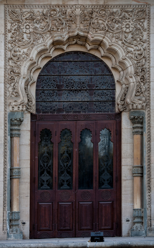 One of the door of Lukshmi Vilas Palace, Vadodara, India