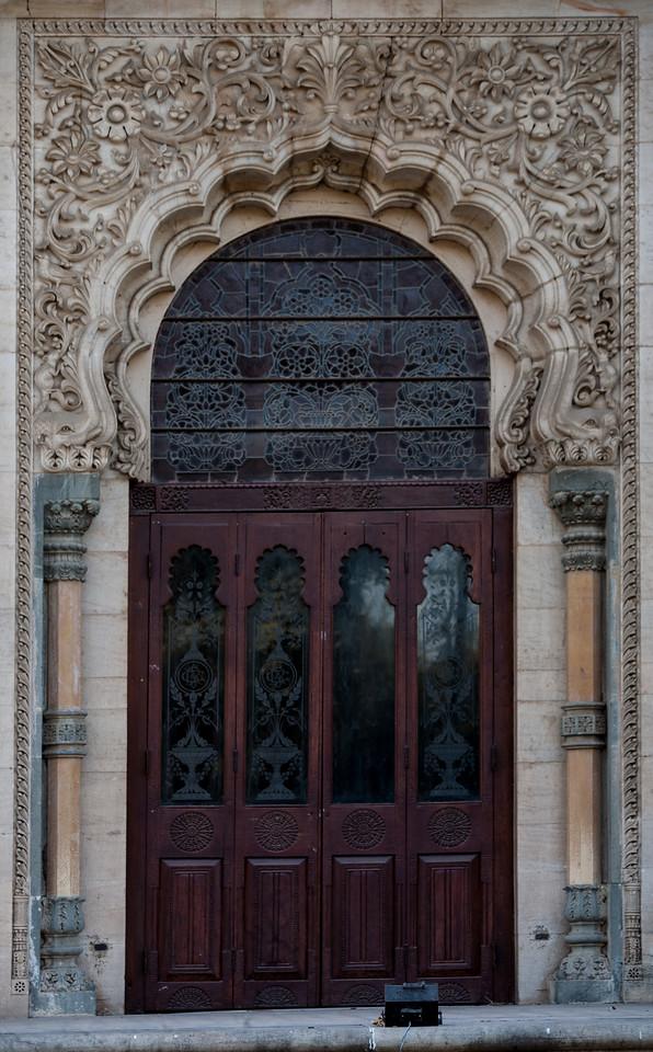 One of the door of Lukshmi Vilas Palace, Vadodara, India