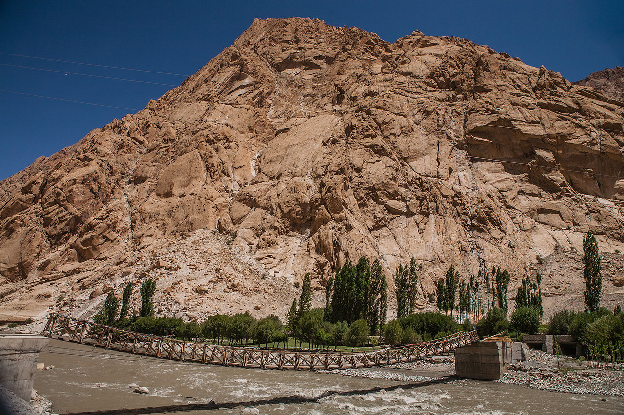 En route Tso Moriri, Ladakh, India