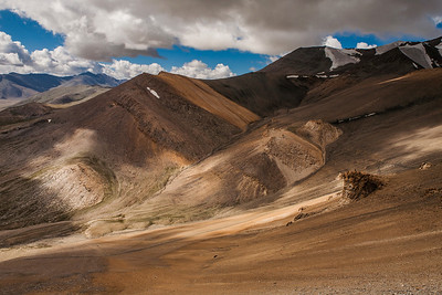 The 470 km journey from Leh to Manali is studded with unbelievable land formations like these.  Read the story of our journey at The Leh Manali route – an epic journey
