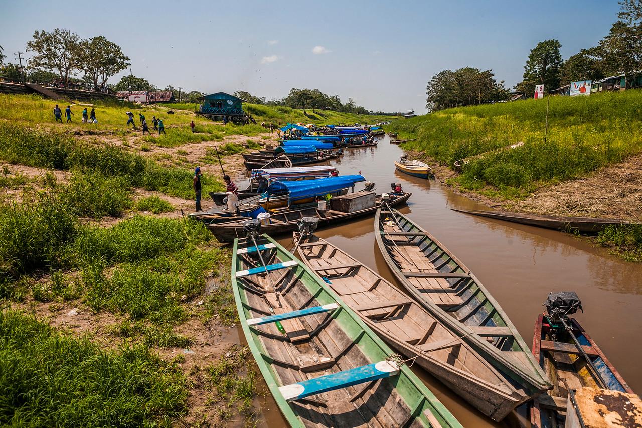 The Amazonizn border town of Leticia, Colombia