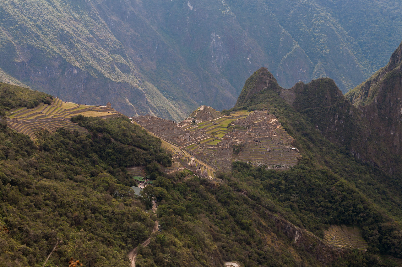 The agriculture sectors of Machu Picchu