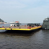Approaching the port of Manaus on the Amazon river, Brazil