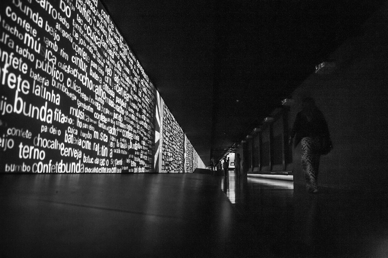 Museu Da Lingua Portuguesa, Sao Paulo, Brazil