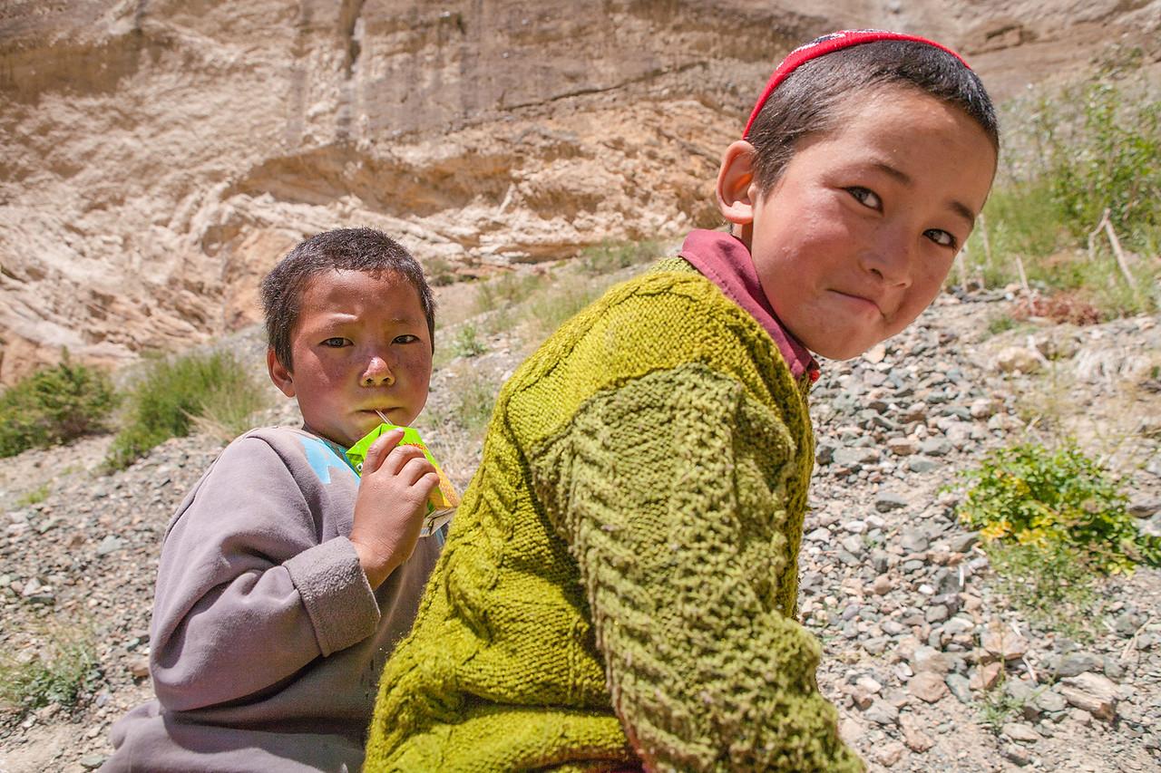 Visit to Phuktal monastery in Zanskar, India