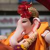 Kasba Ganpati at Ganesh festival in Pune, India