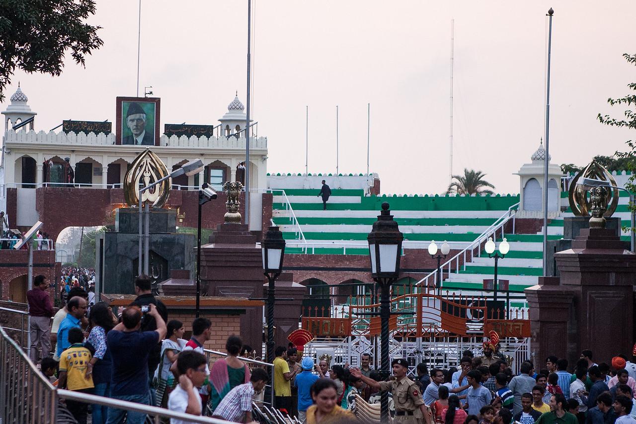 Wagha Border, Amritsar, Punjab, India