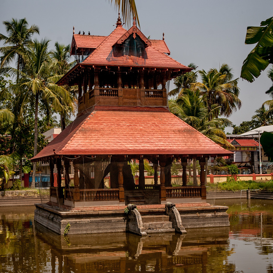 A temple in Fort Kochi, Kerala