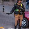 Traffic police of Cusco, Peru