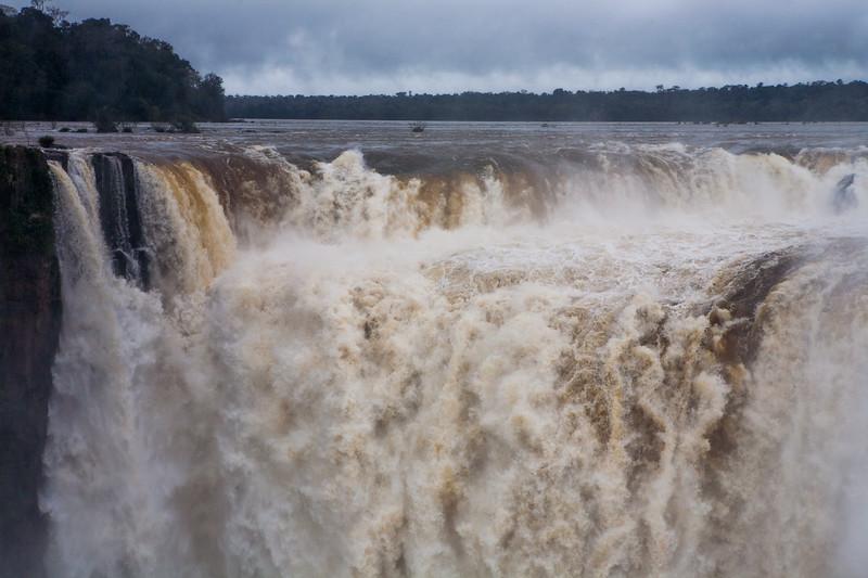 Devils throat of Iguazu Falls, Argentina