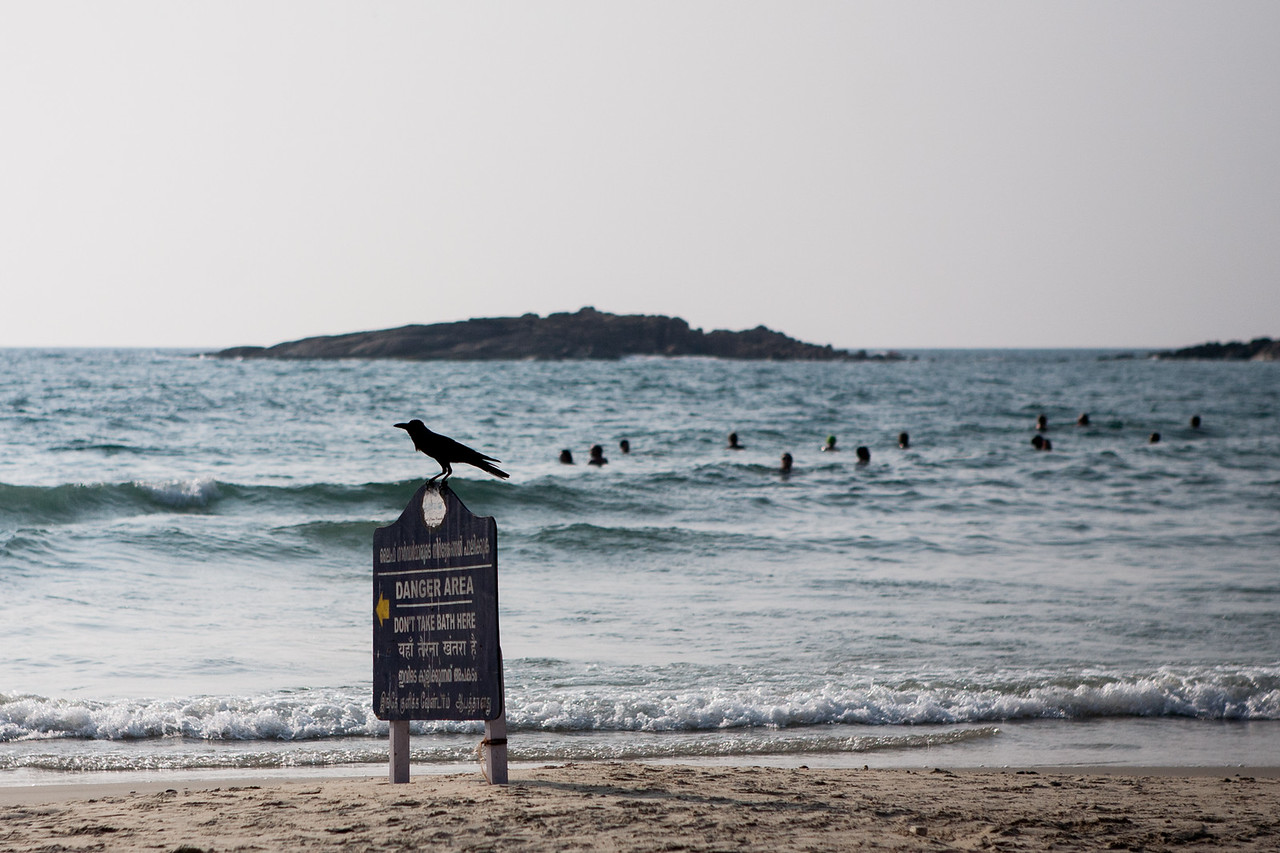 Kovalam beach, Kerala, India