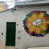 Art on our hostel walls in Manaus, Brazil