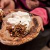 Local food from Sani village in Zanskar, India