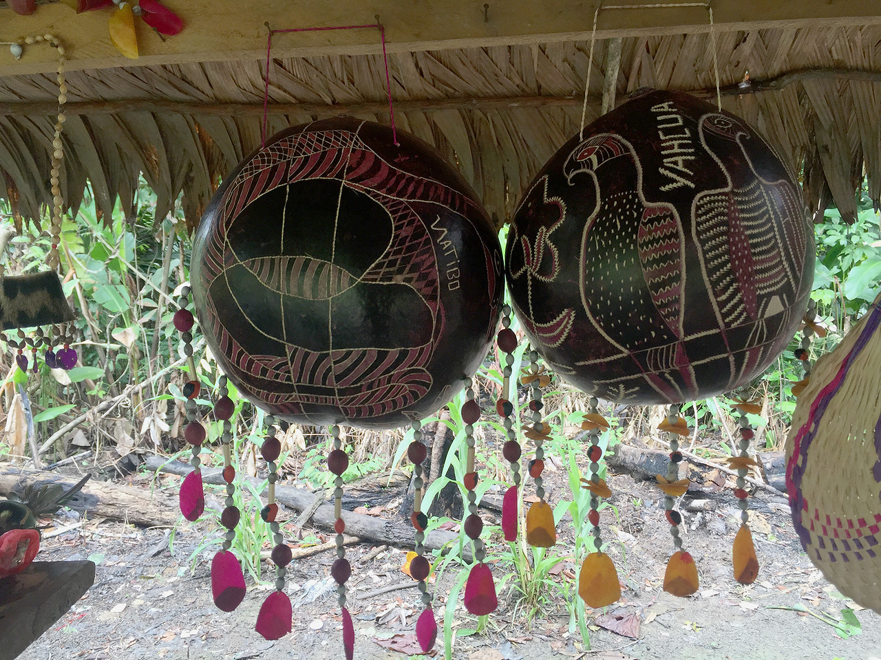 Crafts by Yagua tribe, Peru