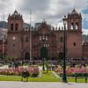 Cathedral of Cusco in Plaza de Armas, Peru