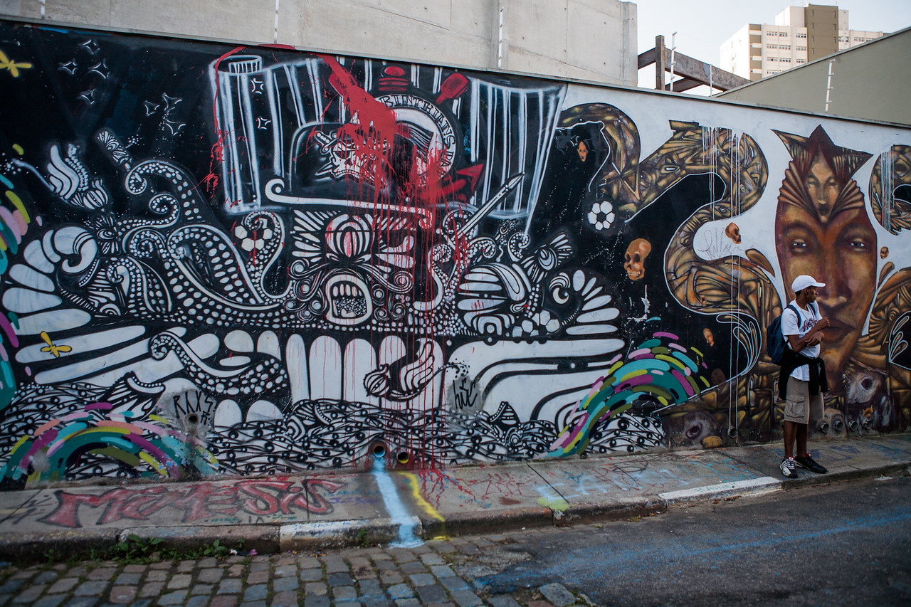 Beco do Batman, Sao Paulo, Brazil