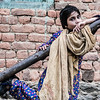 Girl from Lolab valley in Kashmir, India