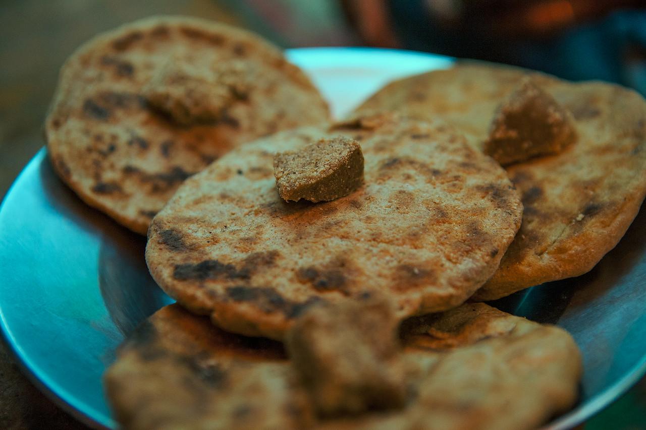 Local bread from Sani in Zanskar, India