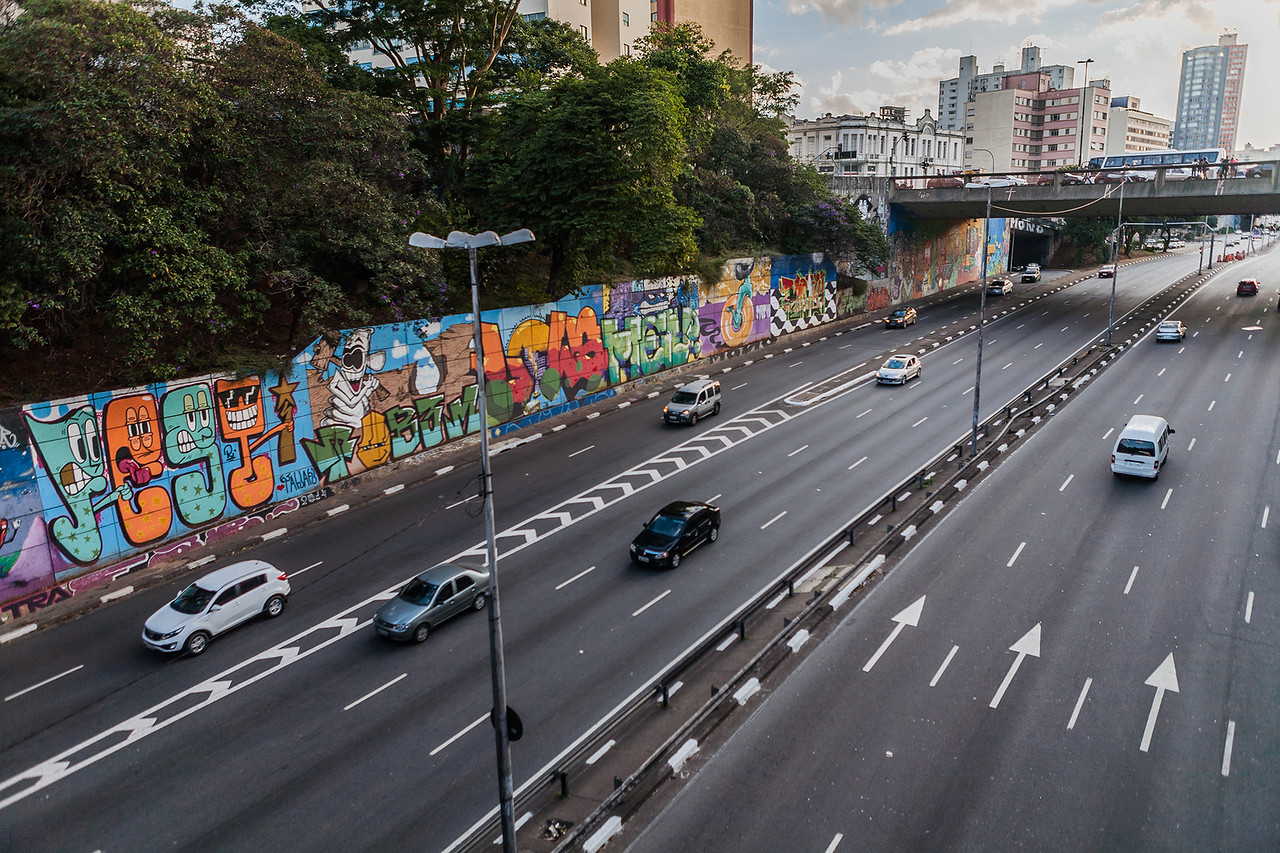 Street art from Sao Paulo, Brazil