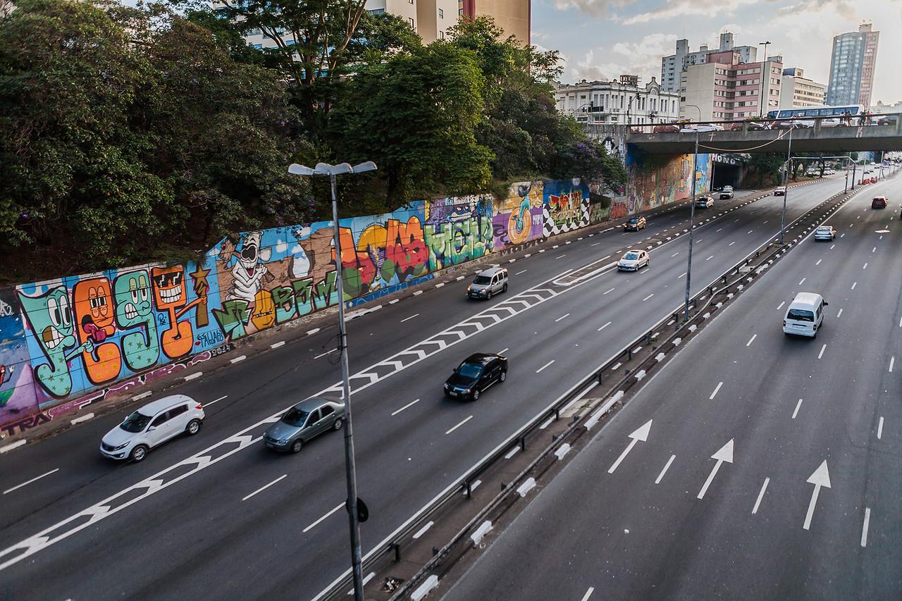 Street art from Sao Paulo, Brazil