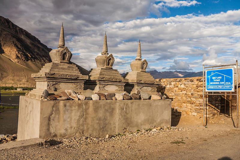 Stupas in Sani, Zanskar