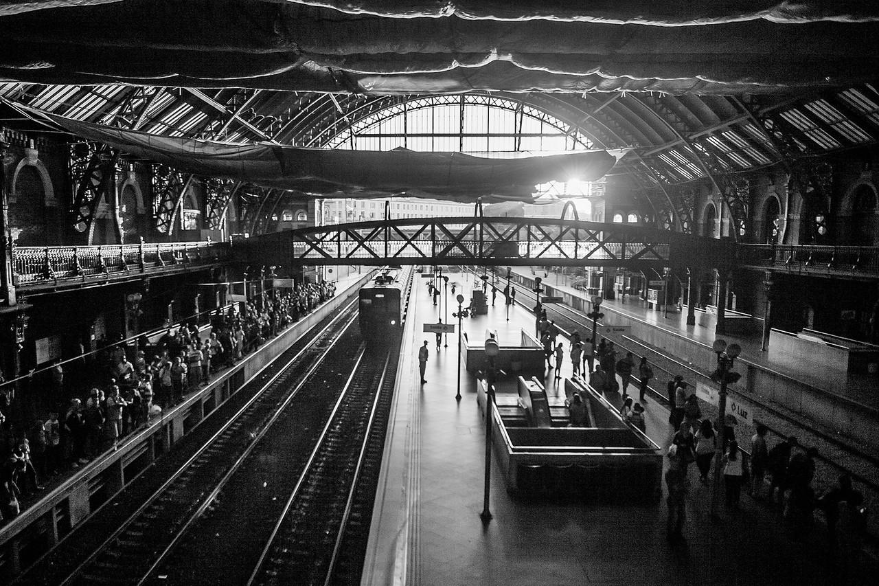 Luz Train station, São Paulo, Brazil