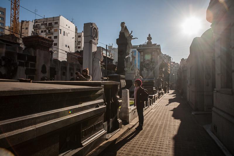 Recoleta Cemetery, Buenos Aires, Argentina